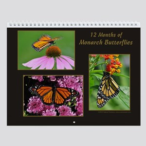 Monarch Butterfly Wall Calendar